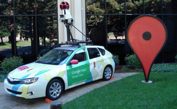 Foto: Google Street View-Fahrzeug