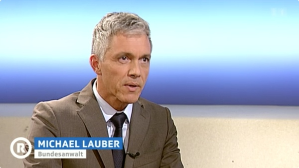 Screenshot: Bundesanwalt Michael Lauber in der «Rundschau»