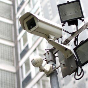 Foto: Überwachungskameras im Freien