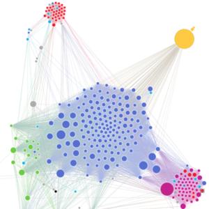 Bild: Ausschnitt aus der Visualisierung der Vorratsdaten von Nationalrat Balthasar Glättli