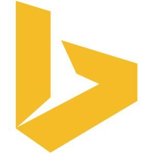 Logo: «Bing» (Suchmaschine von Microsoft)