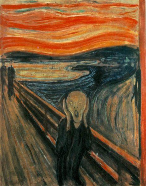 Bild: «Der Schrei» von Edvard Munch