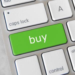 Bild: Tastatur mit «Buy»-Taste
