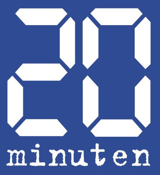 Logo: «20 Minuten» (Zeitung)