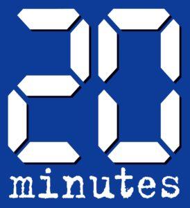 Logo: 20 minutes