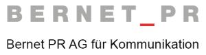 Logo: Bernet PR (Bernet PR AG für Kommunikation)