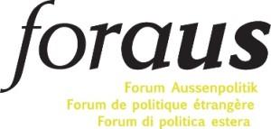 Logo: foraus –Forum Aussenpolitik