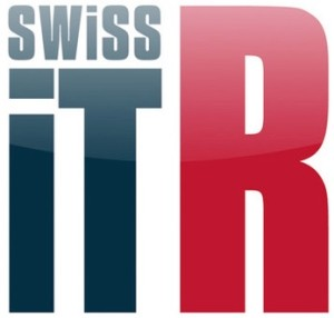 Logo: Swiss IT Reseller (Zeitschrift, «Swiss iT R»-Logo)