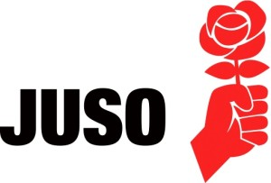 Logo: JUSO Schweiz (JungsozialistInnen Schweiz)