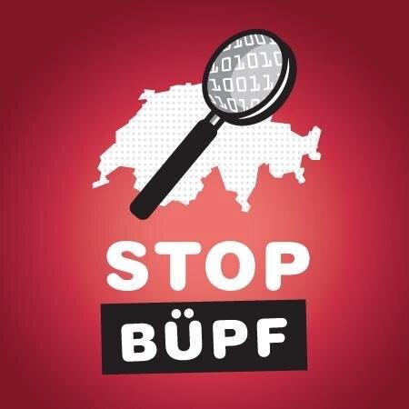 Logo: «STOP BÜPF»