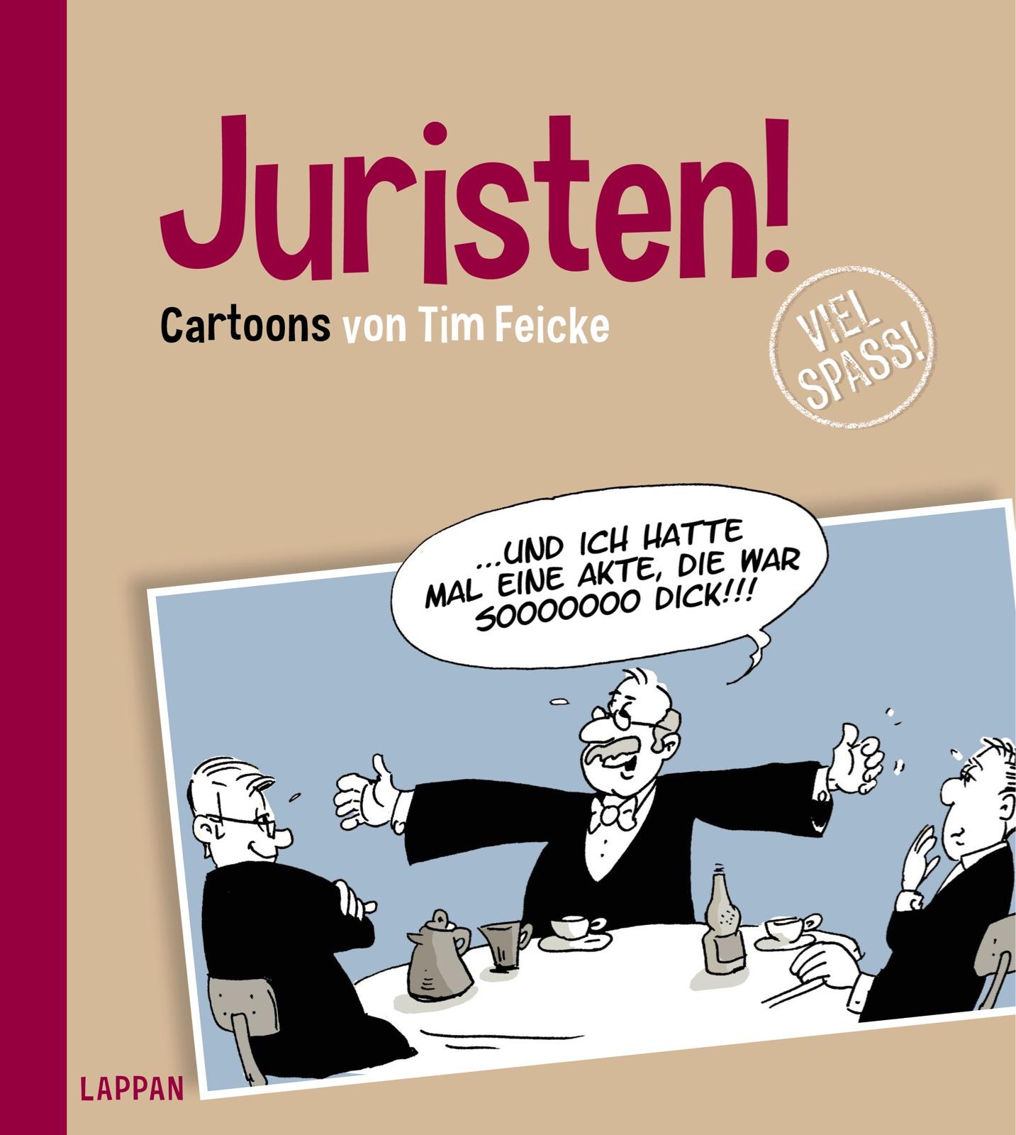 Buchcover: «Juristen!» von Tim Oliver Feicke