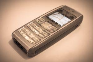 Foto: Altes Mobiltelefon (Handy, Natel)