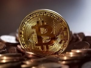 Bild: Bitcoin-Münze