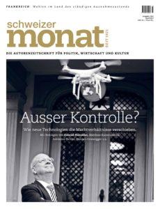 Titelseite: Schweizer Monat 2017/04 (Zeitschrift, Auszug)