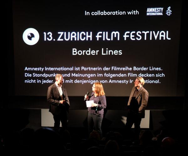 Foto: Podiumsdiskussion am Zurich Film Festival (ZFF) 2017