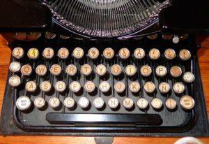 Foto: Schreibmaschine aus den 1930er-Jahren