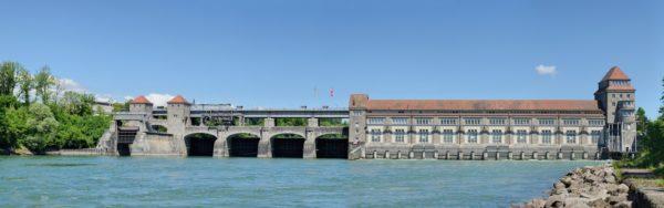 Foto: Wasserkraftwerk Laufenburg