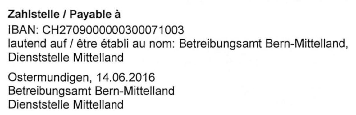 Langsame Berner Zahlungsbefehl Benötigt 21 Monate Steiger Legal