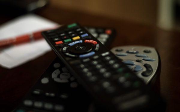 Foto: Fernseher-Fernsteuerung