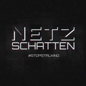 Logo: «NETZSCHATTEN #STOPSTALKING»