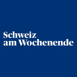 Logo: Schweiz am Wochenende