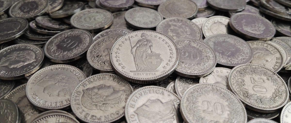 Foto: Schweizerfranken (Münzen)