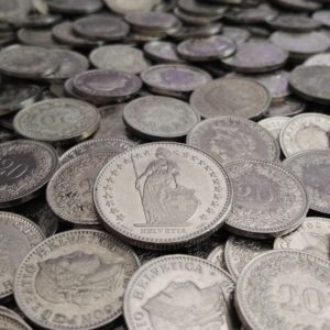 Foto: Schweizer Franken (Münzen)