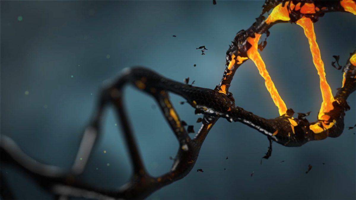 Bild: DNA-Abschnitt