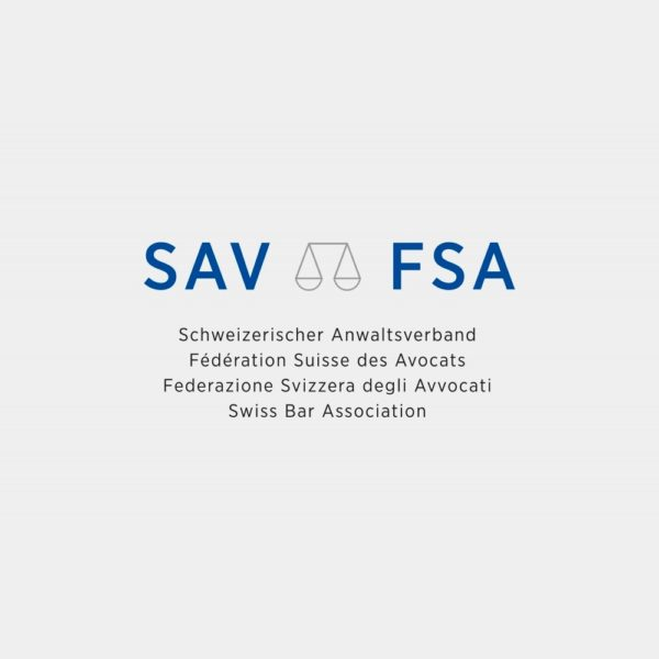 Logo: Schweizerischer Anwaltsverband (SAV)