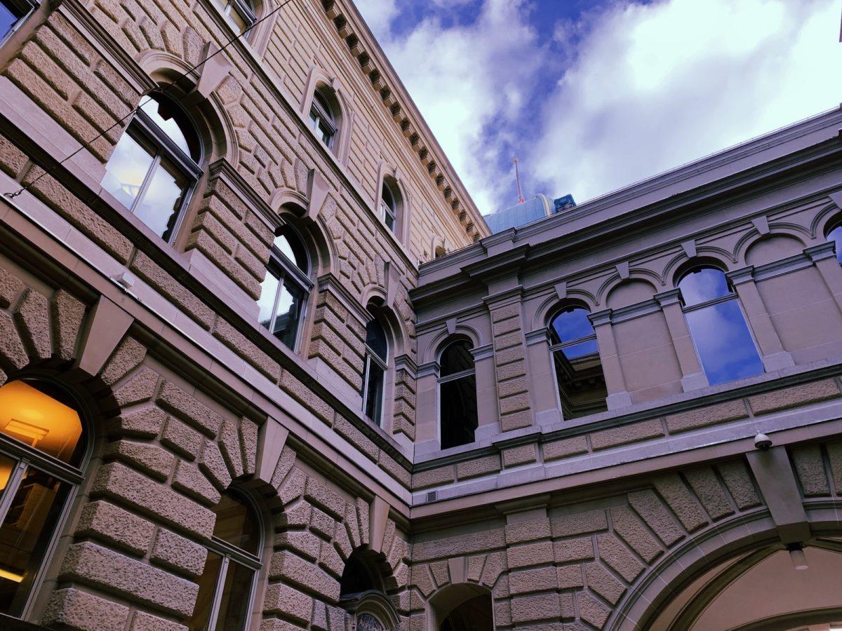 Foto: Bundeshaus in Bern