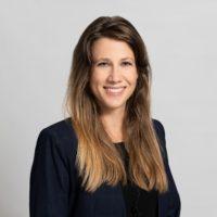 Porträt Bild: Melanie Graf, juristische Mitarbeiterin