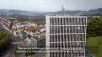 Screenshot: Bundesverwaltungsgericht in St.Gallen (Ausschnitt aus Unternehmensfilm)