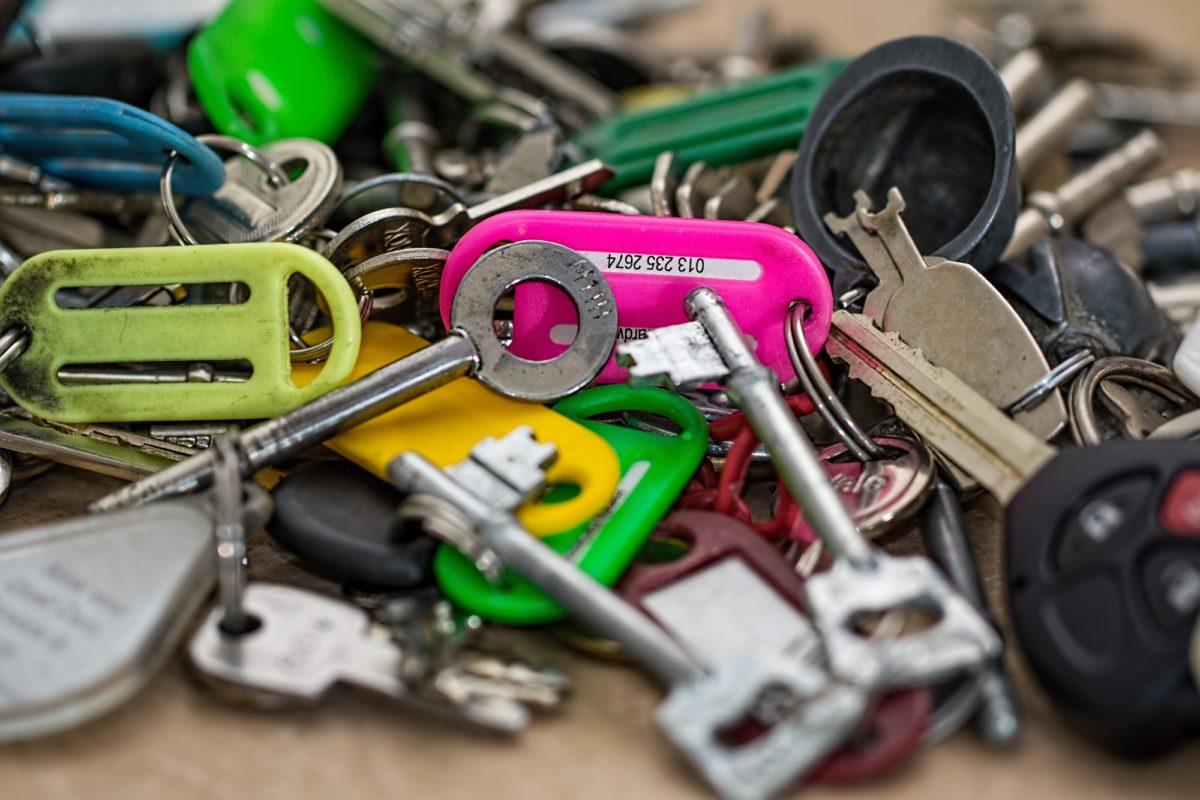 Foto: Zahlreiche Schlüssel