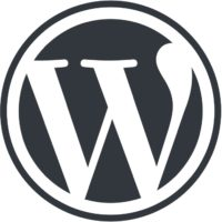 Logo: WordPress («W»)