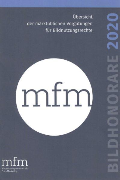 Titelseite: MFM-Bildhonorare 2019