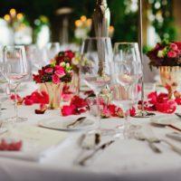 Foto: Gedeckter Tisch in einem Restaurant