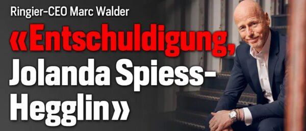 Screenshot: Entschuldigung von Ringier-CEO Marc Walder zu Händen von Jolanda Spiess-Hegglin (blick.ch)