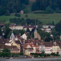 Foto: Panorama der Altstadt von Zug (Ausschnitt)