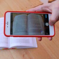 Foto: Buch scannen mit einem iPhone