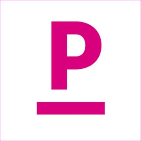 Logo: Pomcanys Marketing AG («P»)