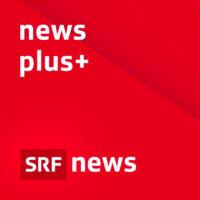 Logo: «news plus+» (Schweizer Radio und Fernsehen, SRF)