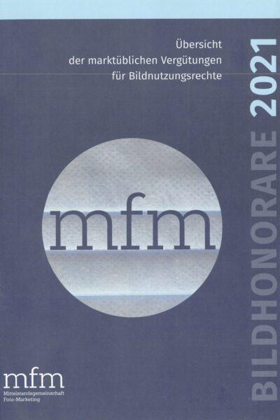 Titelseite: MFM-Bildhonorare 2021