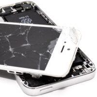 Foto: Beschädigtes iPhone