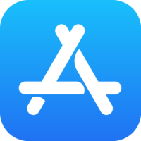 Logo: Apple App Store