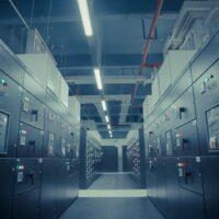 Foto: Blick in ein Data Center