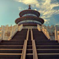 Foto: Stufen zum Himmelstempel in Peking